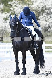 Stapleford Abbotts. United Kingdom. 16 April 2021. British Dressage. MANDATORY Credit Garry Bowden/Sport in Pictures - NO UNA...