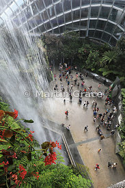 Cloud Forest Dome, Gardens By The Bay, Singapore, Southeast Asia