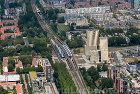Luchtfoto - Amsterdam Little Manhattan