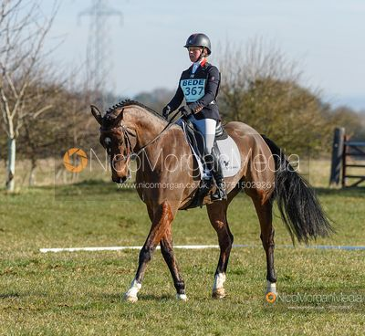 Rosalind Canter and REHY ROYAL DIAMOND. Oasby (1) Horse Trials 2020