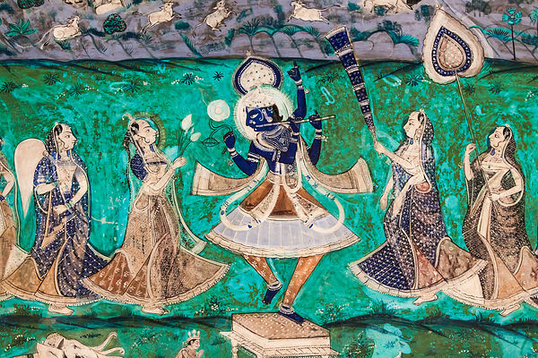 Bundi City Palace Mural III