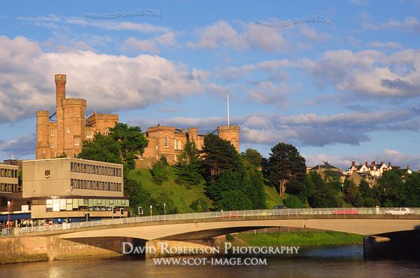 Image - Inverness Castle and River Ness, Scotland.
