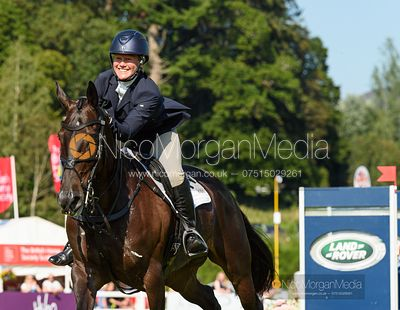 Emilie Chandler and GORTFADDA DIAMOND , Blair Castle International Horse Trials 2019