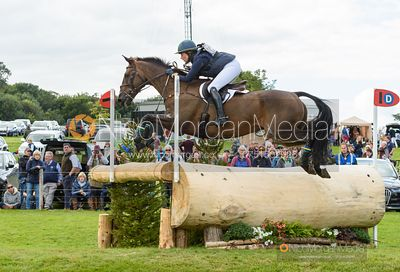 Lillian Heard and LCC BARNABY - Cross Country - Land Rover Burghley Horse Trials 2019