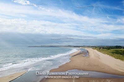 Image - Lunan Bay beach, Angus, Scotland