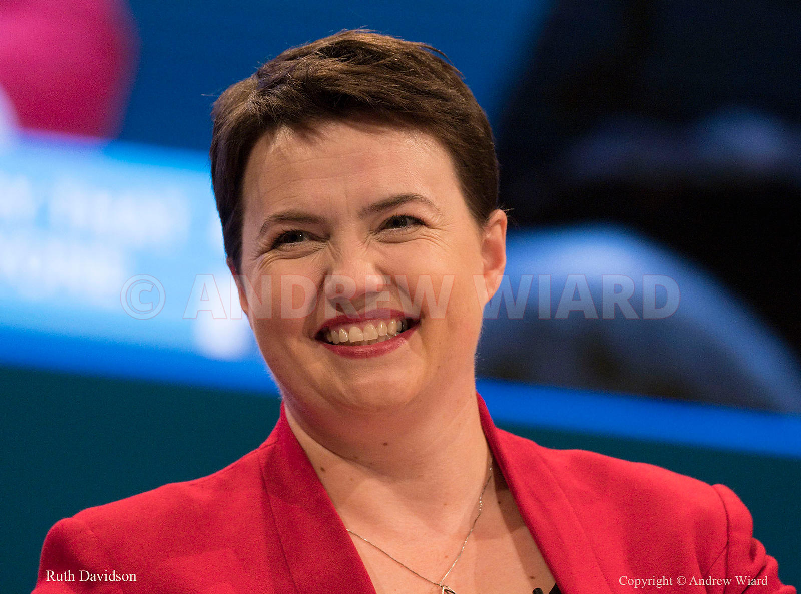England, UK . 1.10.2017. Manchester . Conservative Party Conference, Sunday. Ruth Davidson.