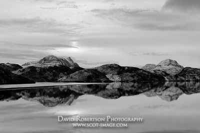Image - Cul Beag and Stac Pollaidh reflected in Loch Buine Moire, Inverpolly, Scotland