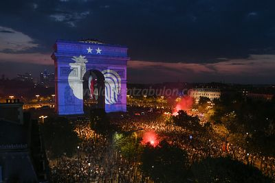 Ambiance Final FIFA World Cup 2018 - Paris