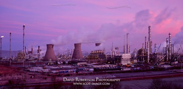 Image - Grangemouth Petro-chemical and refinery complex, Panoramic