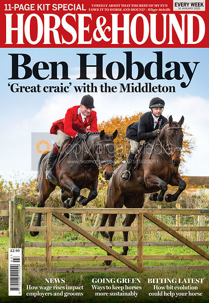 Horse & Hound cover - Ben Hobday at the Middleton 16th Jan 2020
