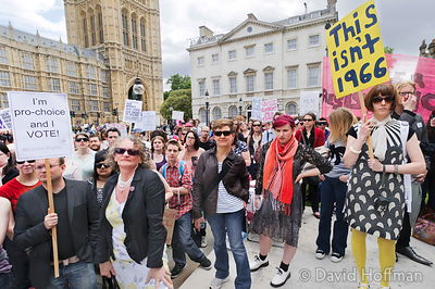 110709 Pro Choice 213 Pro-choice Protest organised by Swansea Feminist Network.Old Palace Yard, Westminster, 9 Jul 2011.