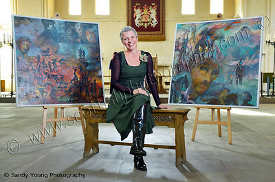 stirling castle, artist in residence