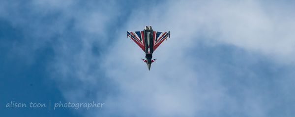 Union Jack Typhoon diving
