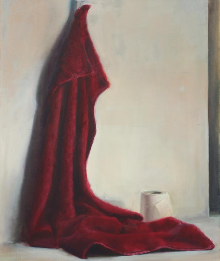 Drama Act 2, 2016, Oil on canvas, 85x71cm