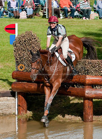 Vicky Brake and Looks Like Fun - Land Rover Burghley Horse Trials 2009