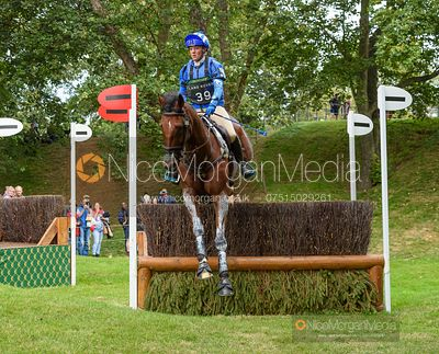 Imogen Murray and IVAR GOODEN - Cross Country - Land Rover Burghley Horse Trials 2019