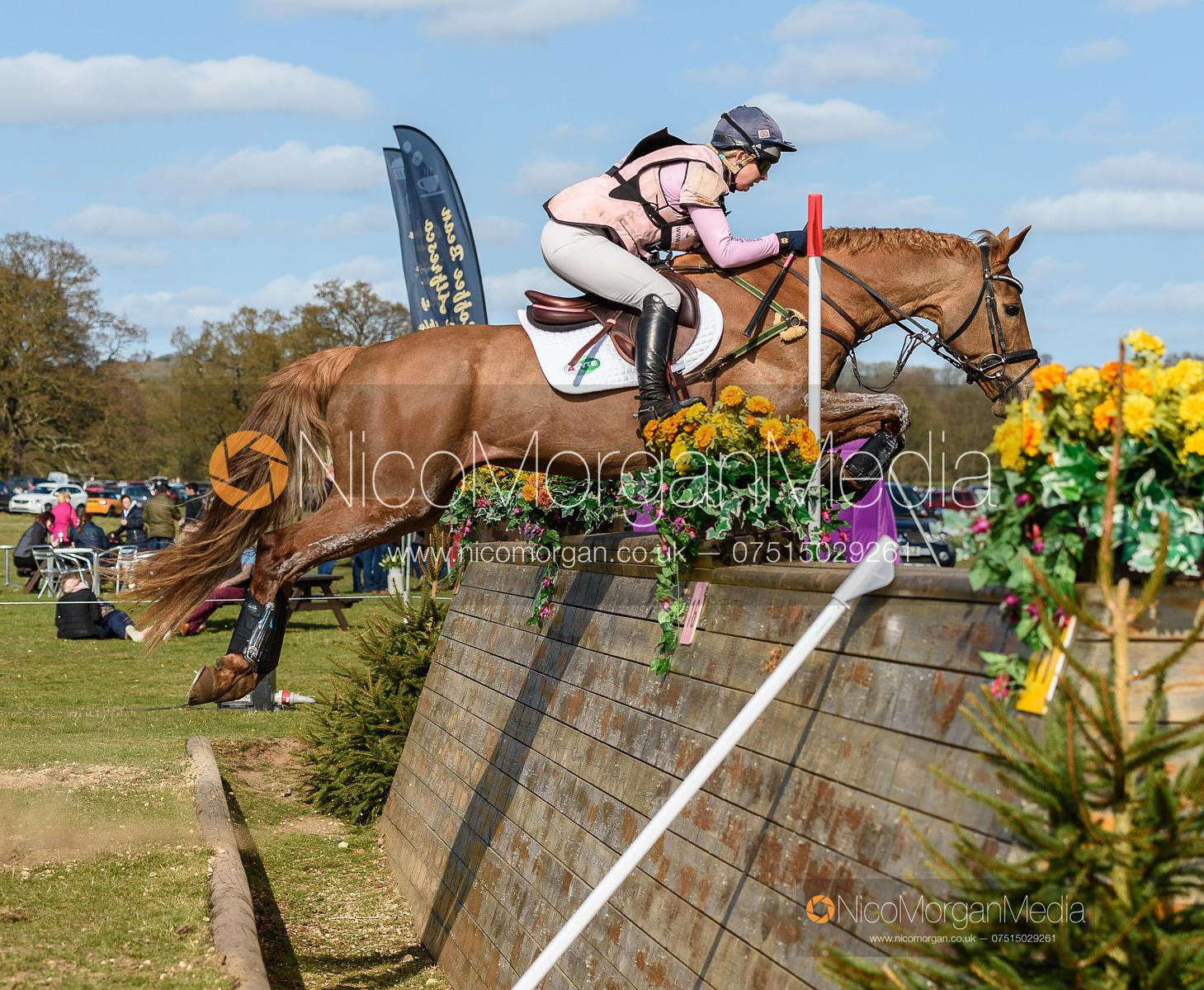 Georgie Spence and HALLTOWN HARLEY, Belton Horse Trials 2019