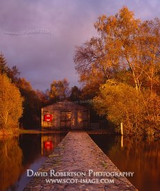 Image - Boathouse, Lake of Menteith, Scotland