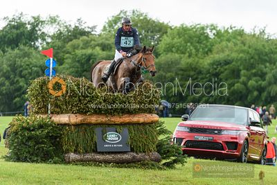 Remi Pillot and TOL CHIK DU LEVANT, Equitrek Bramham Horse Trials 2019