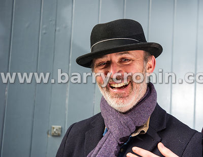 30th January, 2015.Comedian Tommy Tiernan photographed on Drury Street, Dublin.Photo:Barry Cronin/www.barrycronin.com info@ba...