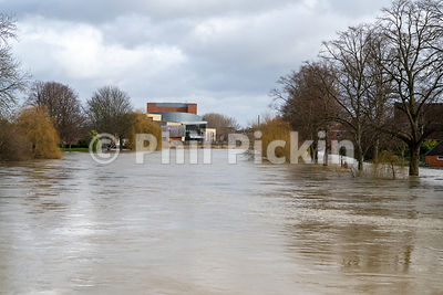 River Severn Floods 2020