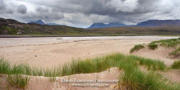 Image - Stac Pollaidh and Coigach from Achnahaird beach, Coigach, Wester Ross, Highland, Scotland Panoramic