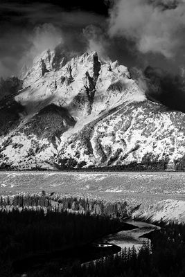 Grand Teton No 2: Wyoming 2012: Photographer Neil Emmerson