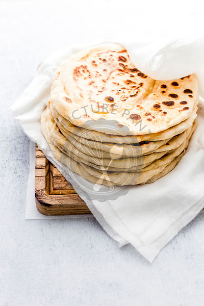 Stack of Six  Flatbreads