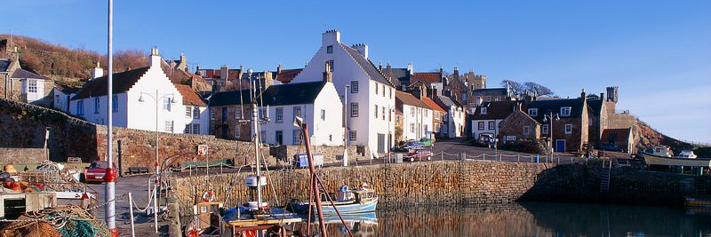 Image - Crail harbour, East Neuk of Fife, Scotland