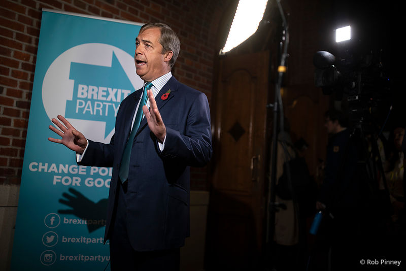 Brexit Party Election Campaign Launch