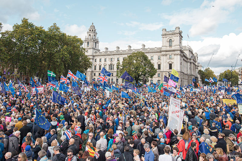 """Super Saturday"" Brexit Protests"