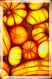 art,painting,abstract,pumpkins,fruit,airbrush