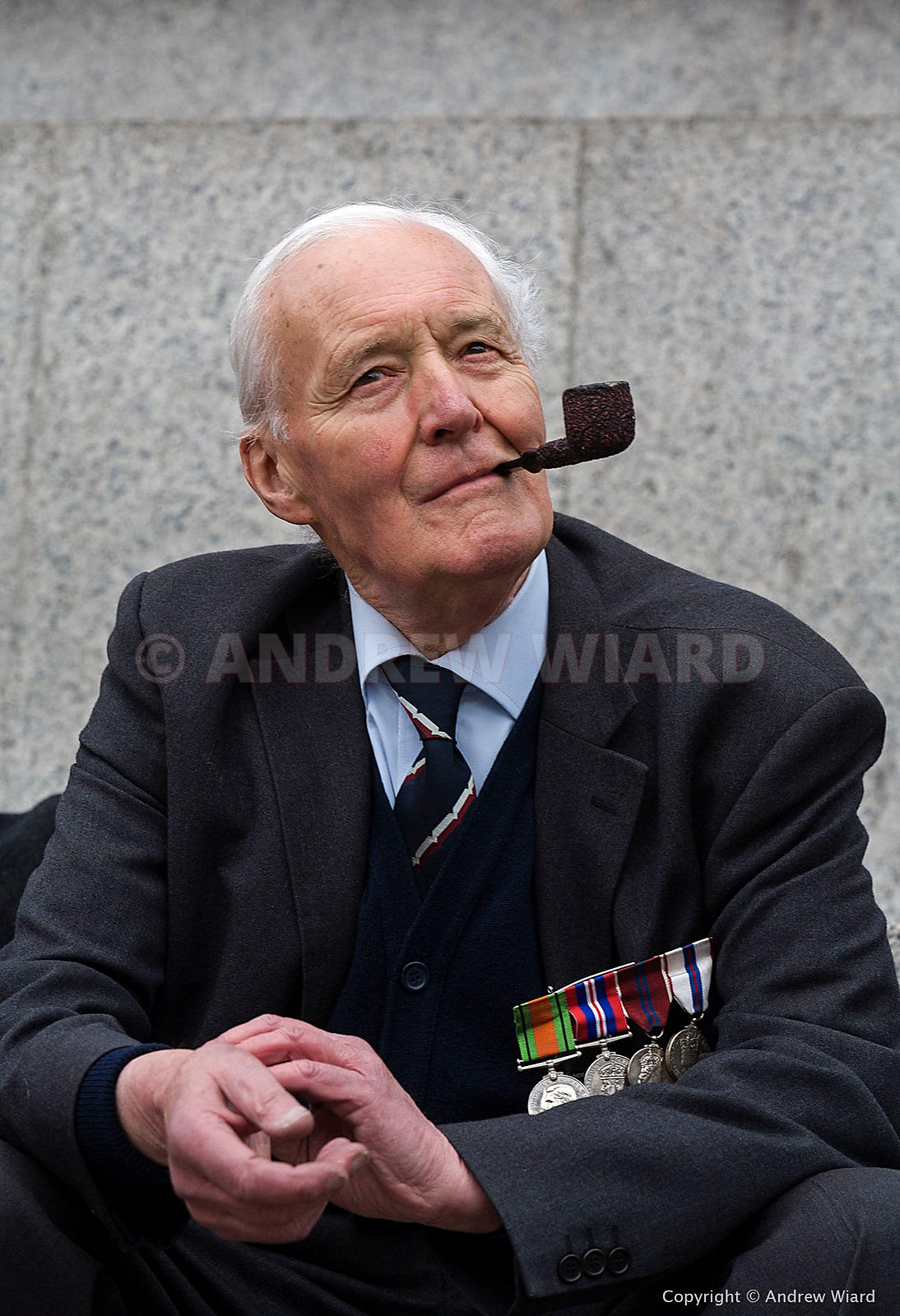 England, UK .8.10. 2007. London. Tony Benn before joining Stop the War Coalition march to Parliament overturning a ban on the...