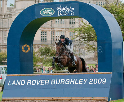 William Fox-Pitt and Seacookie at Burghley horse Trials 2009 - Land Rover Burghley Horse Trials 2009