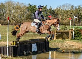 Matt Hecking and HARLE BELLE. Oasby (1) Horse Trials 2020