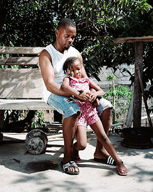 Junior & Daughter, Portmore, Jamaica.