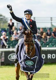 Pippa Funnell and MGH GRAFTON STREET - Show jumping and prizes - Land Rover Burghley Horse Trials 2019