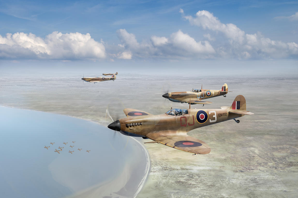 Spitfires over Tunisia