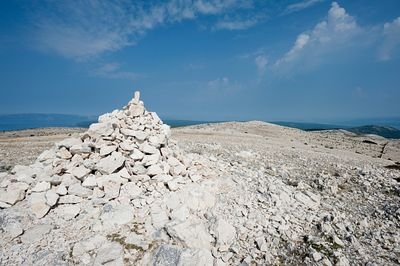 Hiking on the island of Krk, Croatia