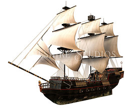 Pirate Sailing Ship
