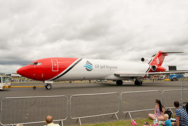 #121014,  Boeing 727 of Oil Spill Response, Farnborough Air Show, 2016.  The aircraft has been adapted to spread dispersing c...