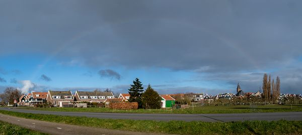 Fading rainbow over Marken