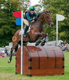 Westwood Poser and Polly Stockton at Burghley Horse Trials 2009 - Land Rover Burghley Horse Trials 2009