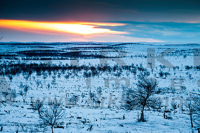 Kaldoaivi Wilderness Area in Lapland