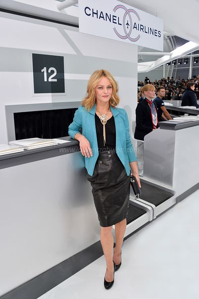 Vanessa Paradis, Chanel's Spring Summer (2016) Ready-To-Wear
