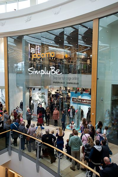 Opening of the new Simply Me/Jacamo store in the Intu Chapelfield shopping mall