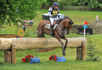 Tim Lips and CONCREX ONCARLOS - Equitrek Bramham International Horse Trials 2012