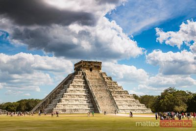 El Castillo temple, Chichen Itza, Mexico