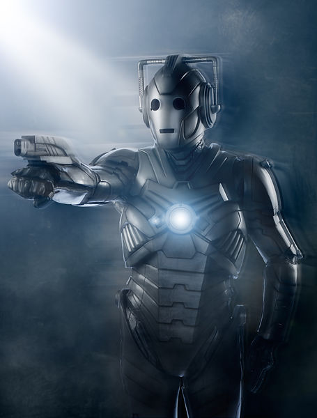 Cyberman key art studio photography