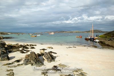 Image - View across the Sound of Iona, Isle of Iona